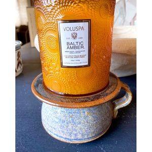 Handmade Ceramic Pottery Candle Holder